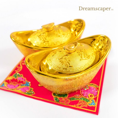 Golden fortune money ingots prop rental
