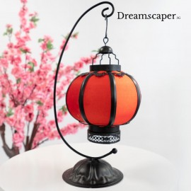 Chinese wedding red lantern table decor