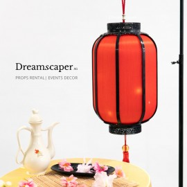 Japanese style red lantern singapore rental