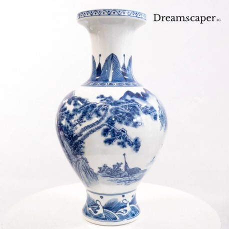 Decorative vintage chinese porcelain vase