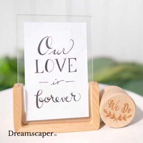 Wood Photo Frame Decoration
