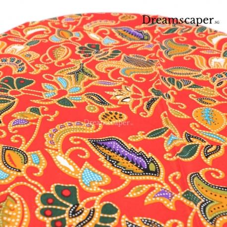 red batik traditional peranakan styling rental