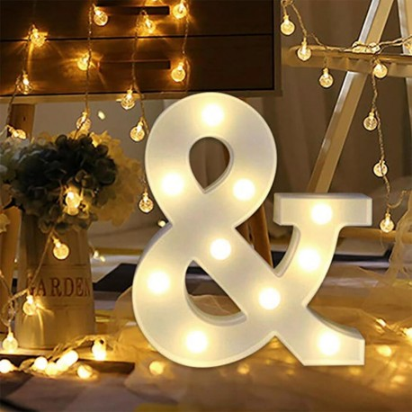 Marquee LED Light Letter & Ampersand