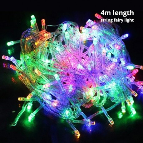 Fairy Lights String 4M (Multi-color)