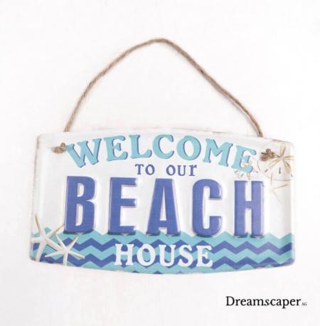 vintage seaside beach resort decor rental