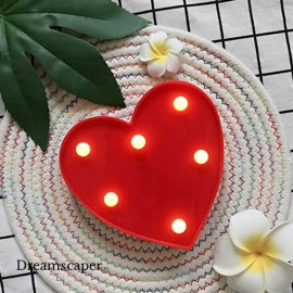 LED Red Heart Love Marquee Light
