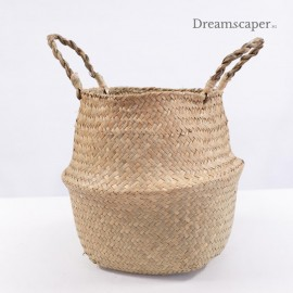 Big rattan basket for flowers rental