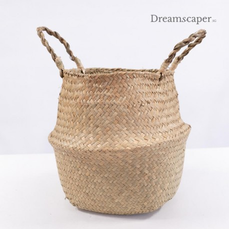 Weave Flower Basket with handles