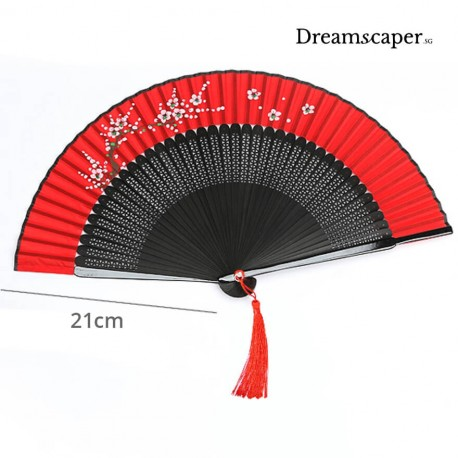 elegant oriental chinese folding fan