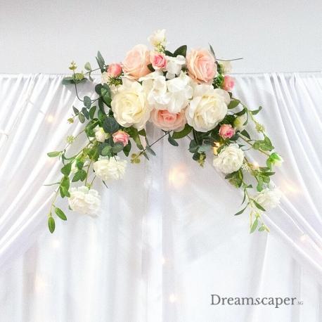 Pink Floral Arrangement Decor