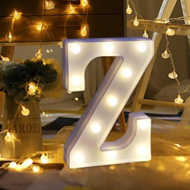 Marquee LED Light Letter Z Singapore