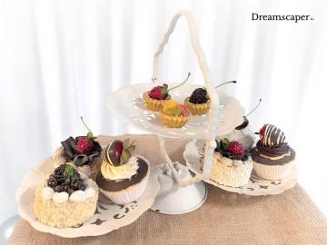 Rent: Decorative Cup Cake / Dessert Display Stand