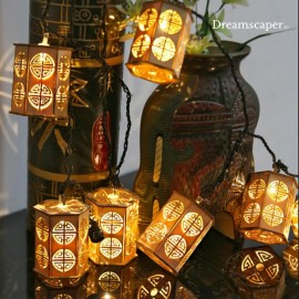 Rent: Oriental Lanterns Fairy Light String (3m)