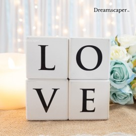 LOVE sign for wedding display rental