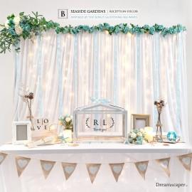 Wedding Reception Package B: Seaside Gardens