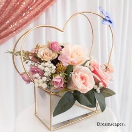 Elegant Props for Garden Theme Wedding Singapore