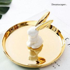 Cute Ring Holder for Enchanted Garden Theme Wedding