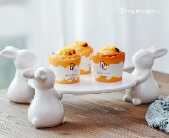 White Cupcake Dessert Stand Rental Singapore