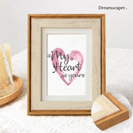 Rustic Wooden Photo Frame for Wedding Rental