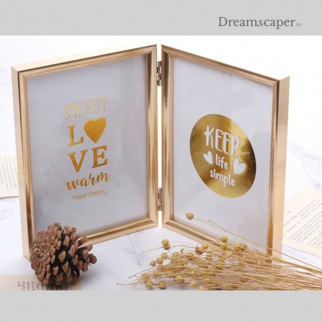 Elegant Photo Frames for Wedding Photo Album Table