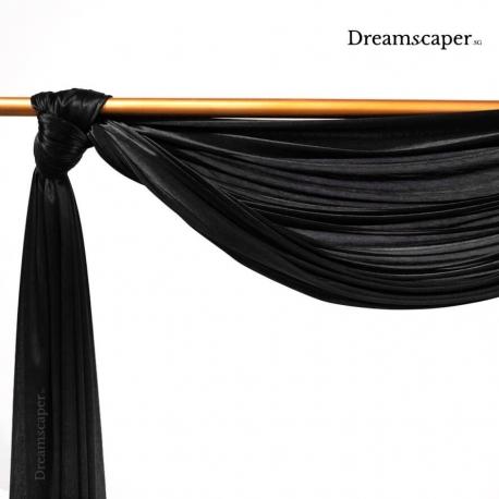Elegant Black Themed Props Rental Singapore