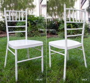 White Tiffany Chair Rental Singapore