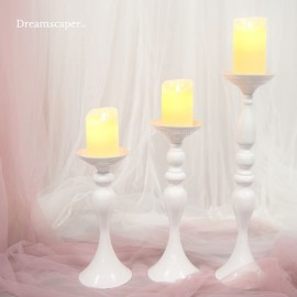 White Candlestand Vase Rental Singapore