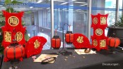 Blog: CNY Decorations at STMicroelectronics 2020
