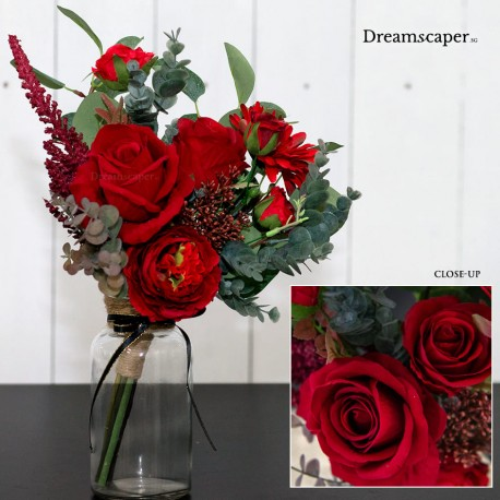 Realistic artificial flowers singapore