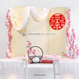 ROM & Solemnisation Package H: Sakura Garden