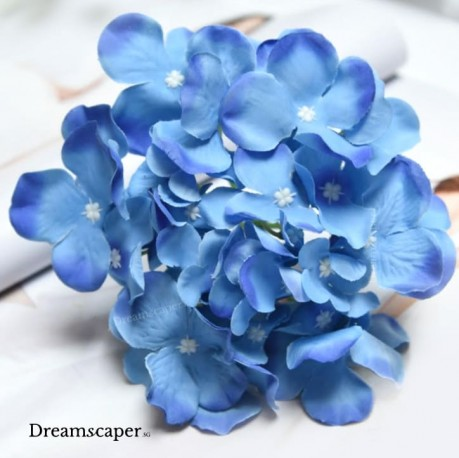 Blue Artificial Flowers Singapore
