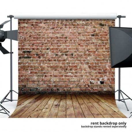 Realistic Brick Backdrop