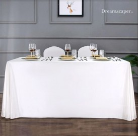 Extra Large White Table Cloth