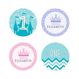 Customised Round Stickers