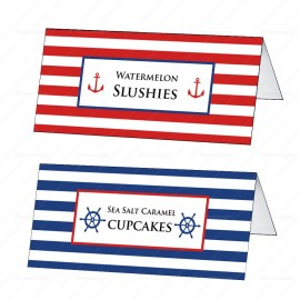 Nautical Tent Card