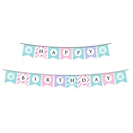 Happy Birthday Pennant Banners
