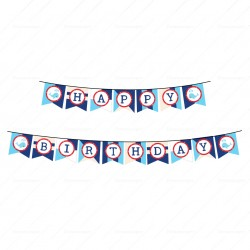 Nautical Pennant Banners