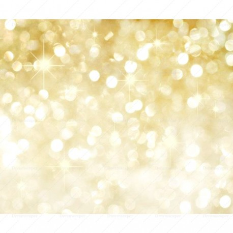 Festive Gold Sparkle Background