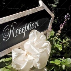Rent Wedding Reception Chalkboard Arrow