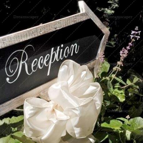 Rent Wedding Reception Chalkboard Arrow