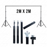 Rent: 2m x 2m Portable Backdrop Stand