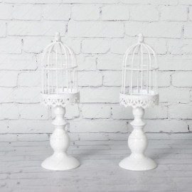 Rent Small White Bird Cage