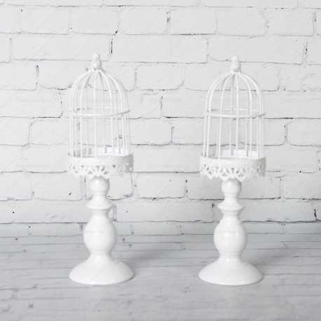 Rent Small White Bird Cage