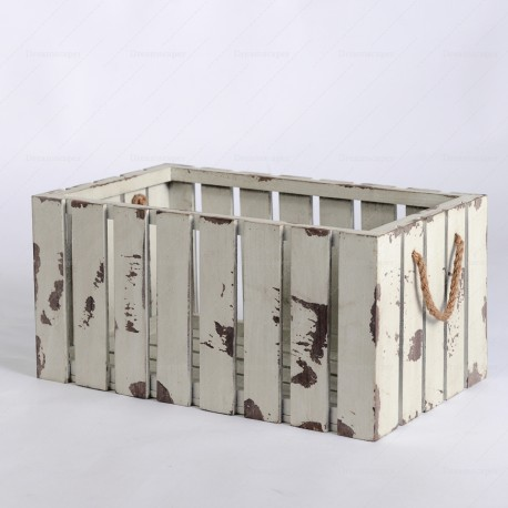 Rent Vintage White Crate