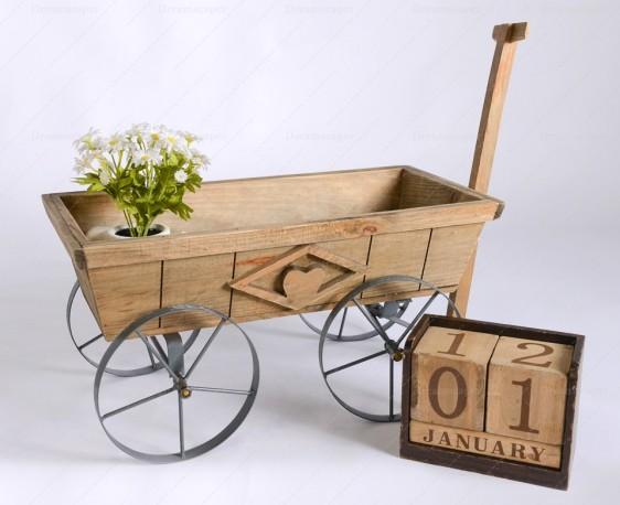 Rent Prop Old Wooden Cart