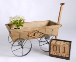Rent: Wooden Wheel Cart