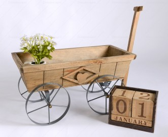 Rent Prop Old Wooden Cart