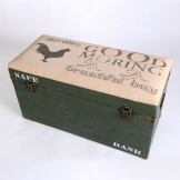 Rent: Vintage Storage Box (with cushioned seat)