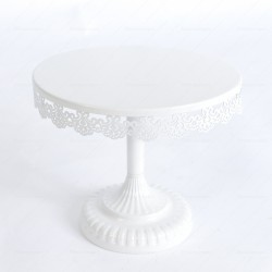 Rent Prop White Cake Stand