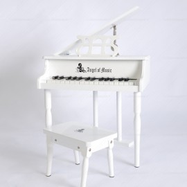 Rent Prop Mini White Piano